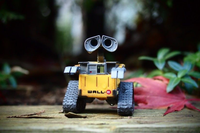 HD Wallpaper: Wall-E robot