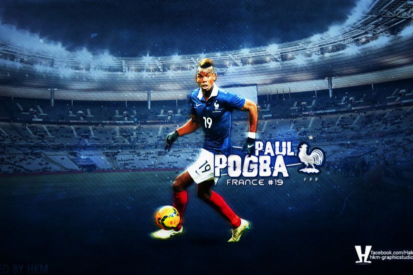 ... Paul Pogba France HD Wallpaper by HkM-GraphicStudio