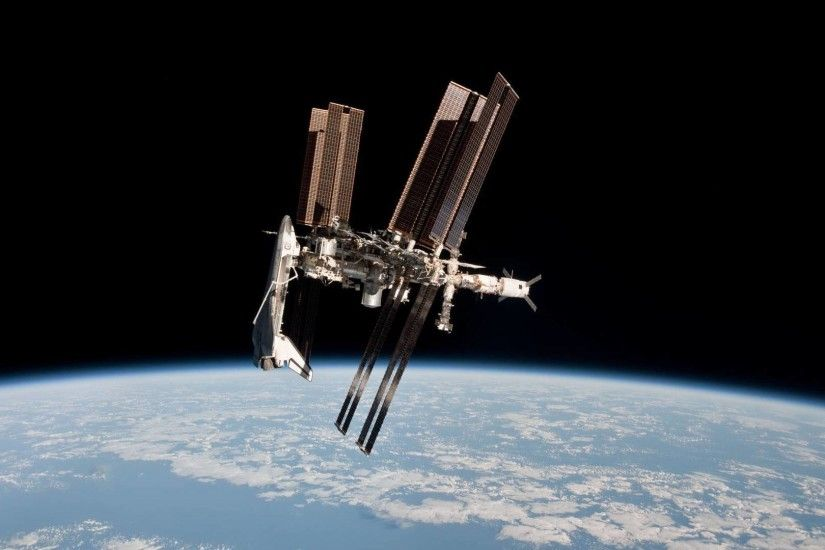 International Space Station HD Wallpaper