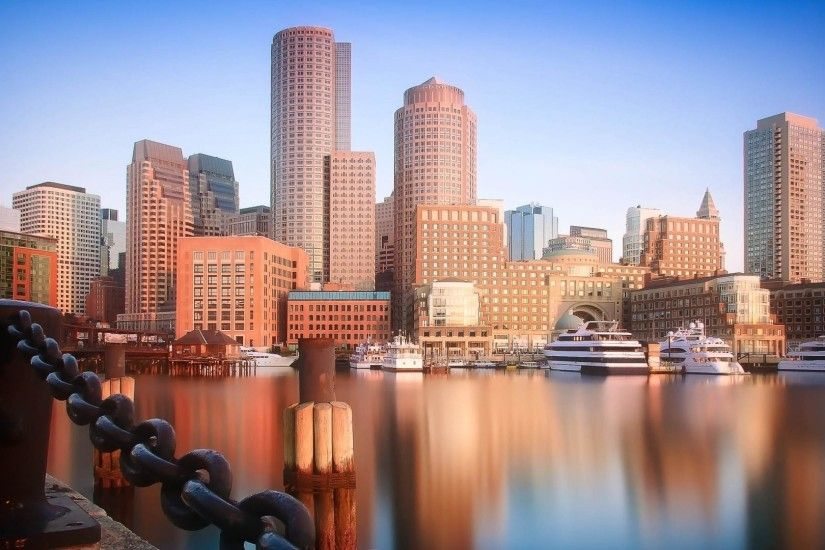 Skyscrapers of Boston wallpaper