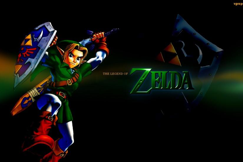 The Legend of Zelda Wallpaper Background.