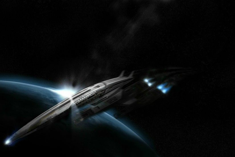 Mass Effect, Normandy SR 2 Wallpapers HD / Desktop and Mobile Backgrounds