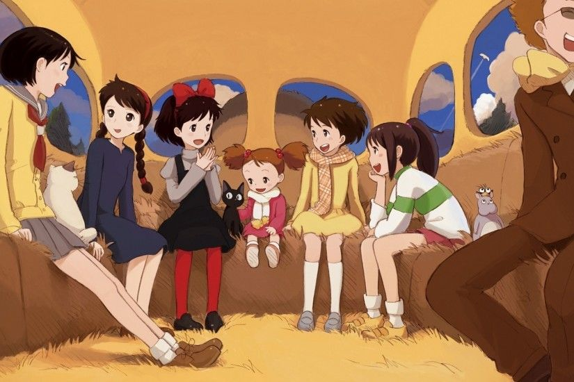 Studio Ghibli, My Neighbor Totoro, Castle In The Sky, Kikis Delivery  Service, Spirited Away Wallpapers HD / Desktop and Mobile Backgrounds