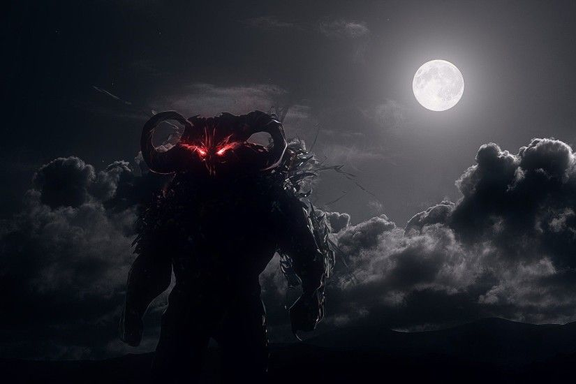Dahaka Moon HD Wallpaper. « »
