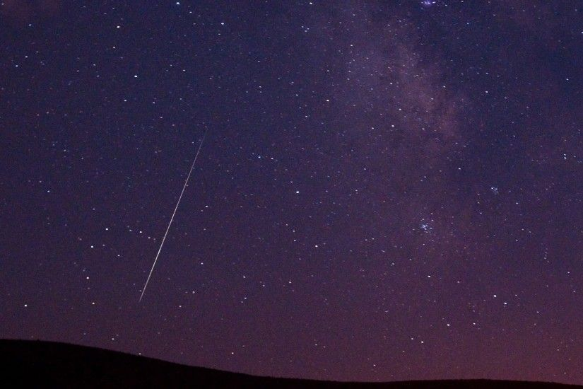 High definition wallpaper download Perseids Meteor Shower HD Wallpaper