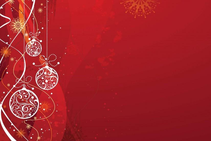 Red And White Christmas Background (16)