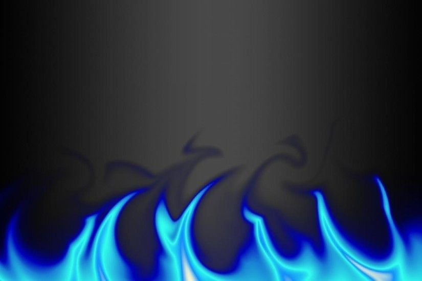 Wallpapers For > Blue Flame Wallpaper