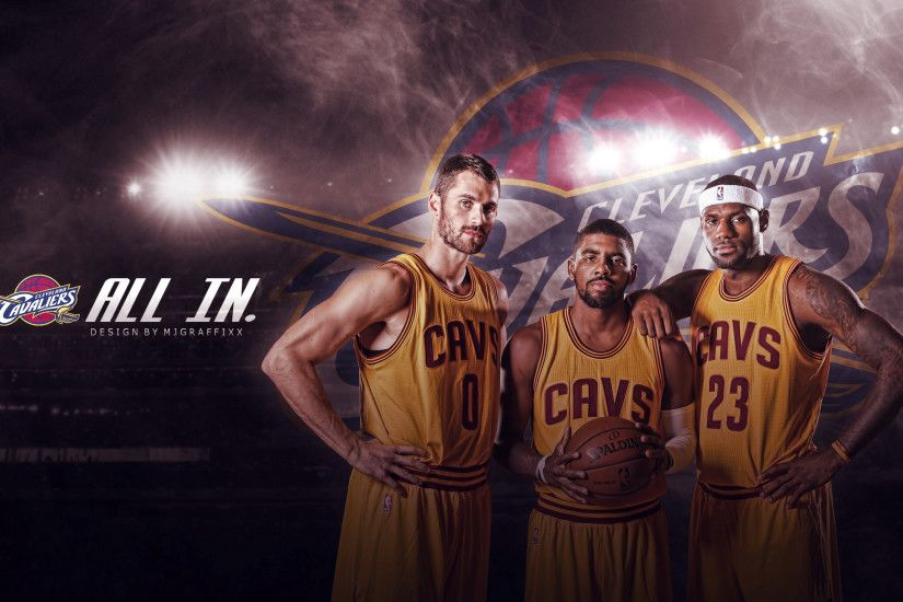 Cleveland Cavaliers Big 3 – Kevin Love, Kyrie Irving, &Amp; Lebron James