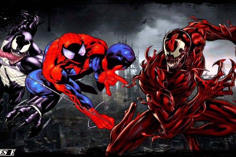 Spiderman carnage venom wallpaper - photo#9