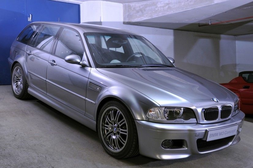 BMW M3 Touring Concept E46 Wallpapers