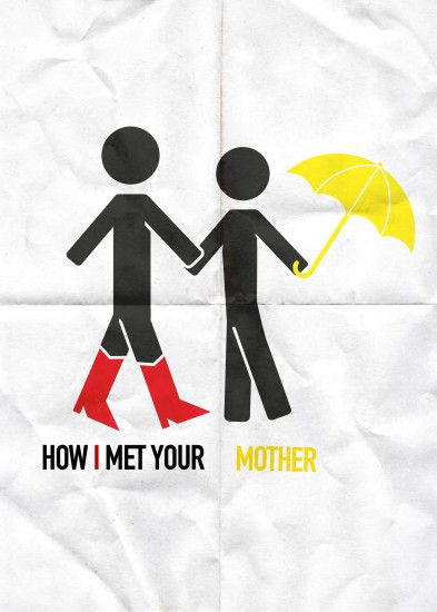 "Minimalist Poster ""How I met your Mother"" by Daniel Cutillas #diseñografico  #design"
