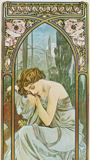 Alphonse mucha artwork wallpaper | (114010)