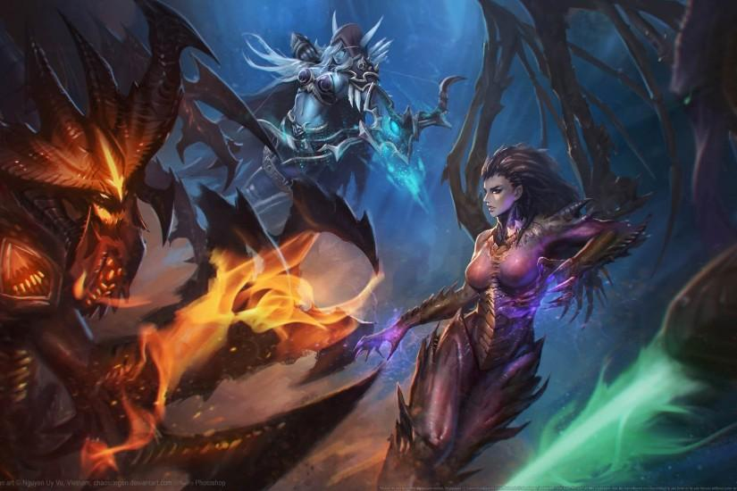 download heroes of the storm wallpaper 1920x1080 photos
