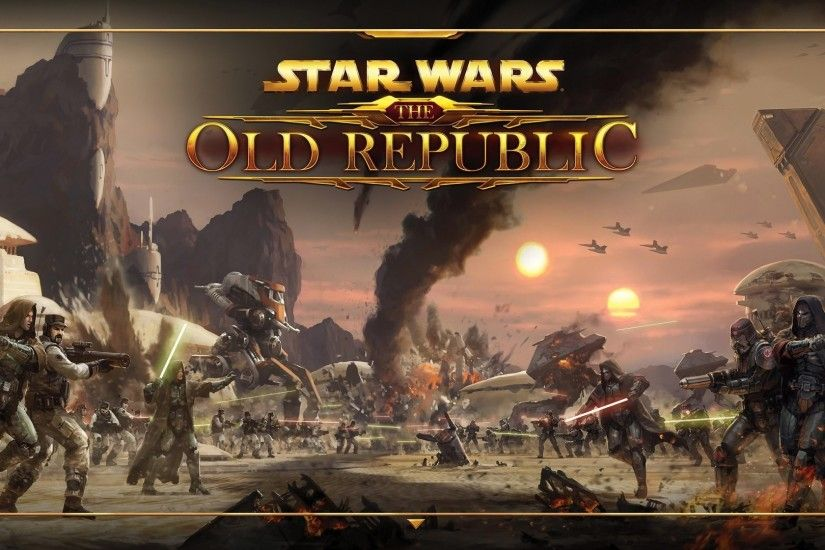 STAR WARS OLD REPUBLIC mmo rpg swtor fighting sci-fi wallpaper .