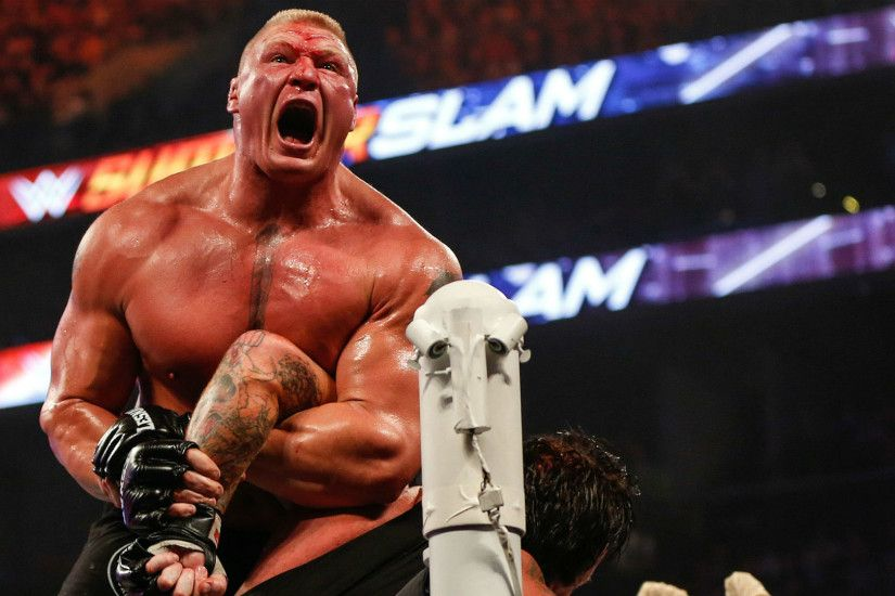 WWE won't punish Brock Lesnar for positive UFC drug tests | WWE | Sporting  News