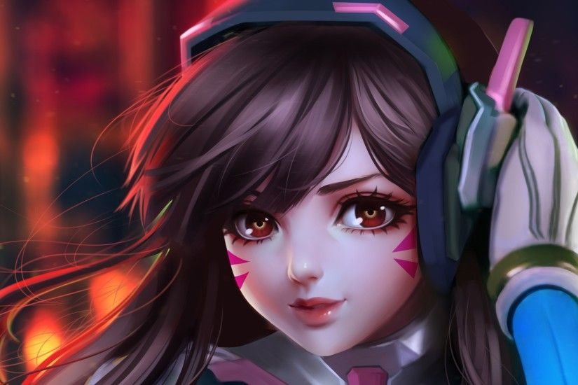 Dva Overwatch Fan Art HD Wallpaper - Image #1331 -