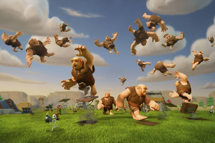 clash of clans wallpaper 2880x1800 screen