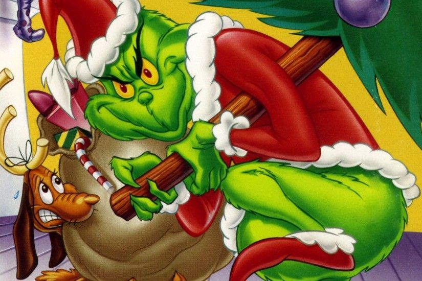 TV Show - How the Grinch Stole Christmas Cartoon Grinch TV Show Wallpaper