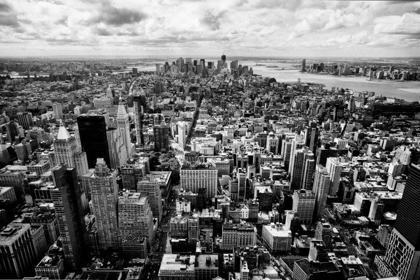 Skyscrapers Panorama Nyc Black White Skyscrapers City Pictures Usa New York  wallpaper | 2560x1600 | 892971 | WallpaperUP