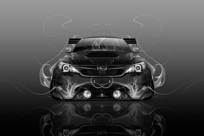 Subaru Impreza WRX STI JDM Tuning Front