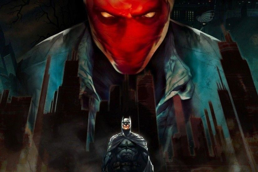 Batman, Red Hood Wallpapers HD / Desktop and Mobile Backgrounds