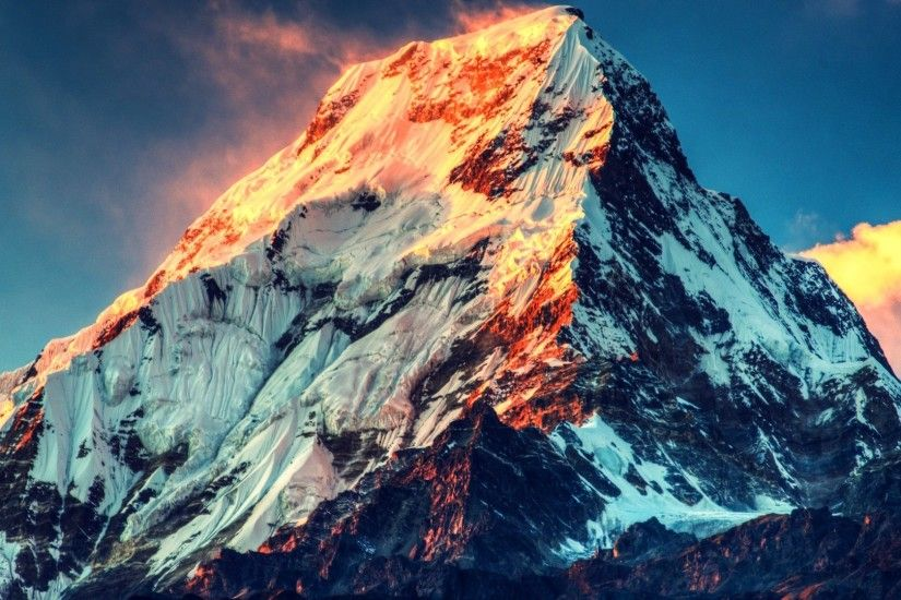 Mount Everest HD Wallpaper 1920x1080
