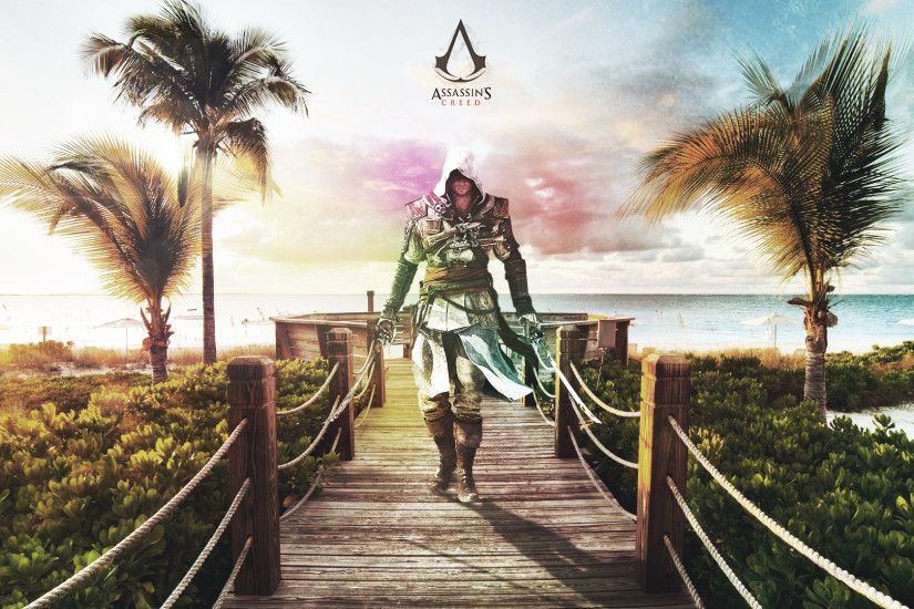 ... Assassin's Creed Black Flag Wallpaper by Rzra