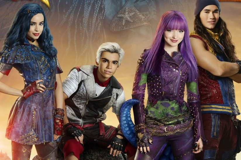 2017 movie, Descendants 2 Wallpaper | 1920x1080 Full HD .