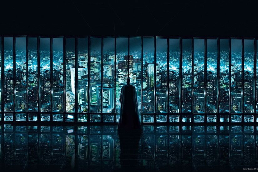 Batman epic glass wall picture