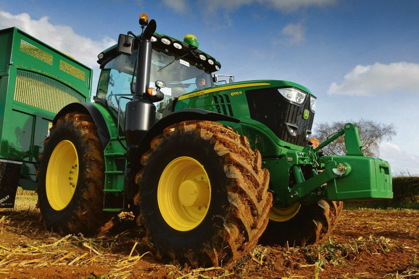 Power boost for new, cleaner John Deere 6Rs
