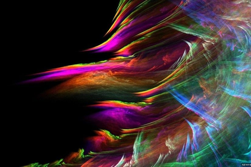 Colorful Wind Abstract Desktop background
