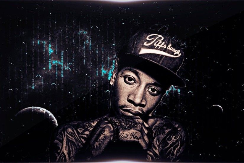 Speed Art // Wiz Khalifa Basic Wallpaper - YouTube