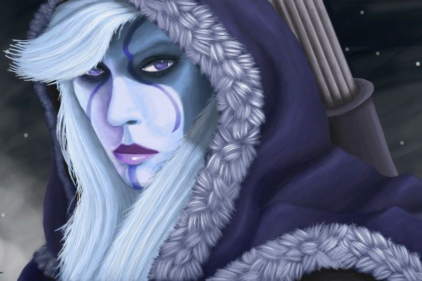 Drow Ranger Traxex Dota 2 9l Wallpaper HD