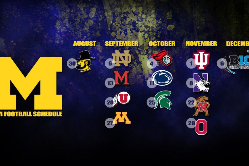 ideas about Michigan Wolverines Football Schedule on 1920×1280 Michigan  Wolverines Football Wallpapers (34 Wallpapers) | Adorable Wallpapers |  Pinterest ...