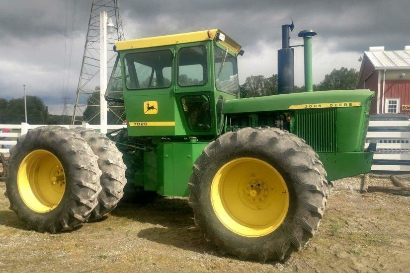 Pete's Pick of the Week: John Deere 7020 Articulated Tractor - News |  Agweb.com