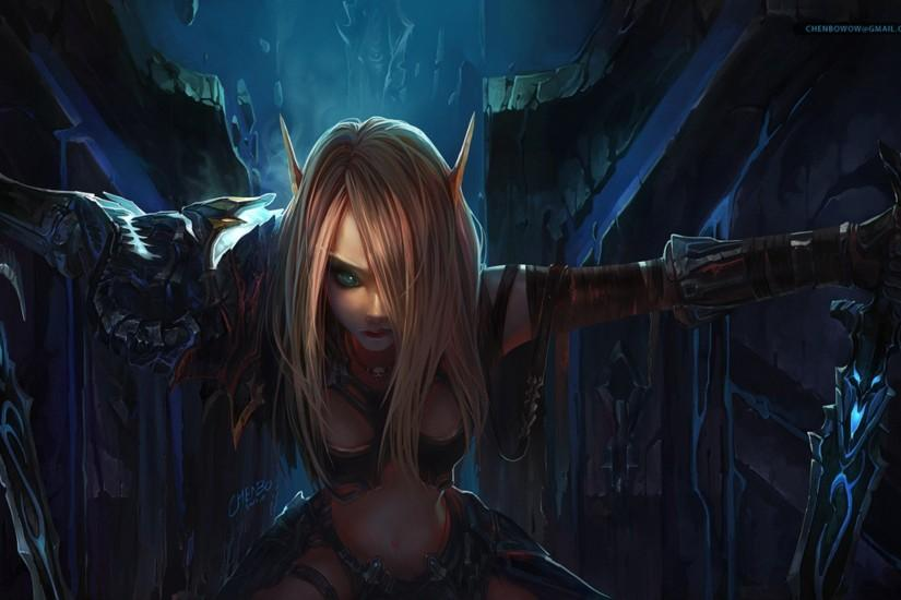 Chenbo Elves Weapons Women World Of Warcraft Wallpaper ...