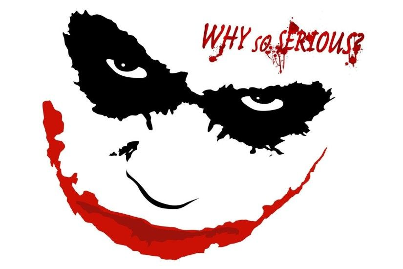 ... Joker Why So Serious Wallpapers Wallpaper Cave