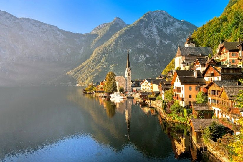 Austria Wallpapers - Wallpaper Cave 25 Hallstatt HD Wallpapers |  Backgrounds - Wallpaper Abyss ...