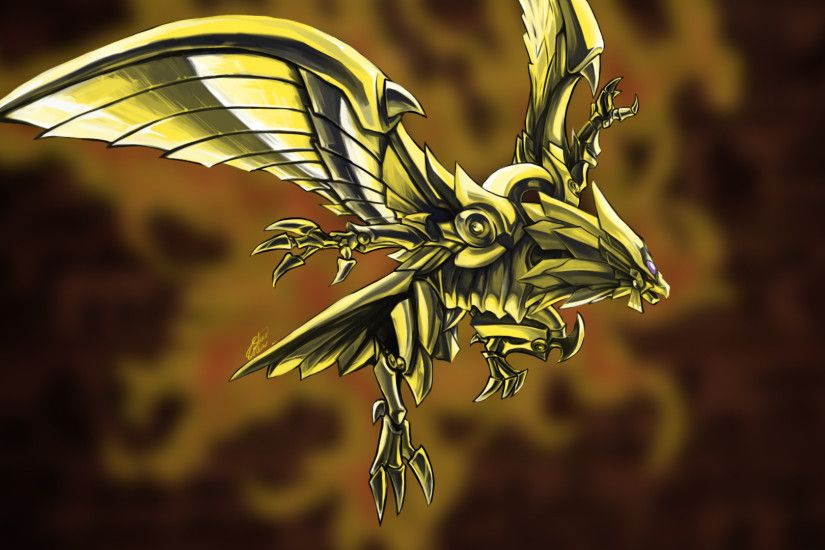 ... Winged Dragon of Ra by Silver-Fate