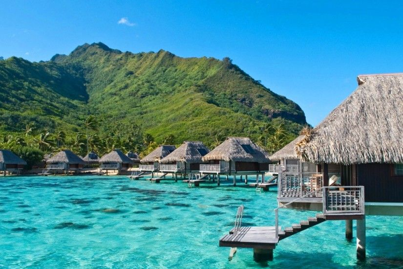 ... Wallpaper - WallpaperSafari Beautiful Beach Resort View #6904494 ...