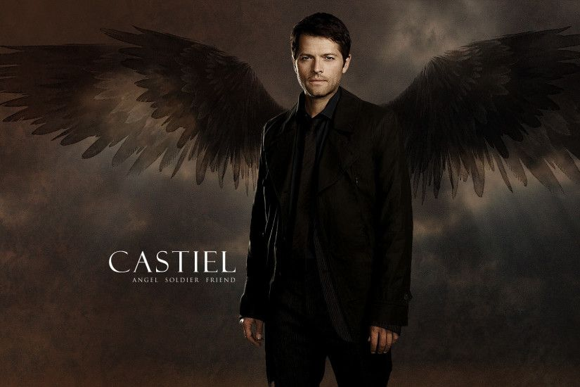 supernatural wallpaper castiel | Wallpaper: Castiel by KajatheDog on  deviantART | Castiel82074 | Pinterest | Castiel, Supernatural wallpaper and  ...