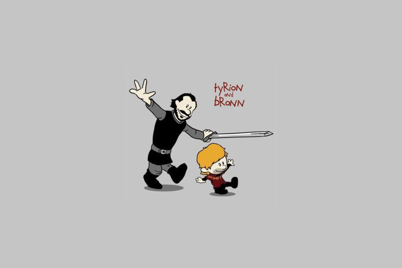 Game of Thrones calvin & hobbes styled [1920x1080]. (not sure where the