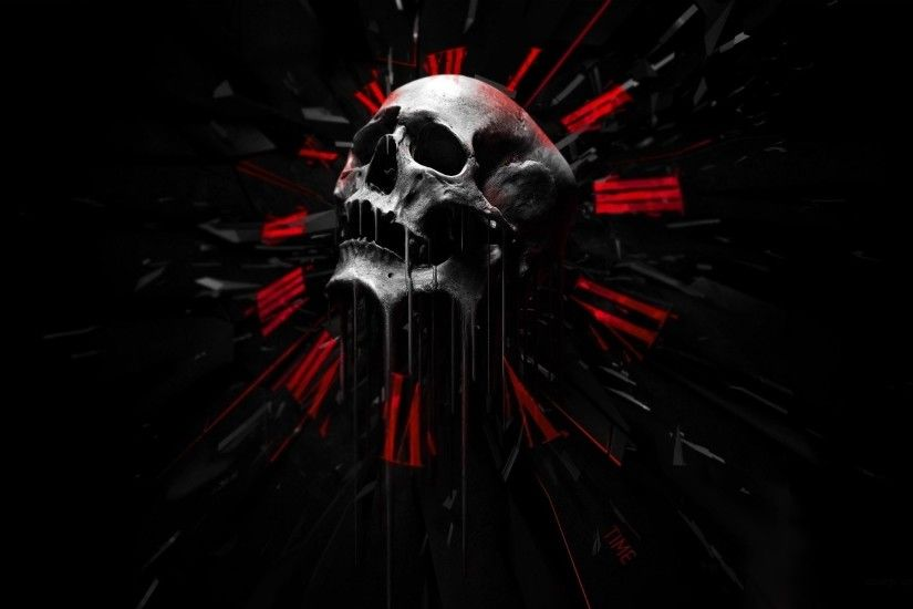 Skulls Wallpapers dark skull wallpaper Dark Wallpapers High 1920×1200