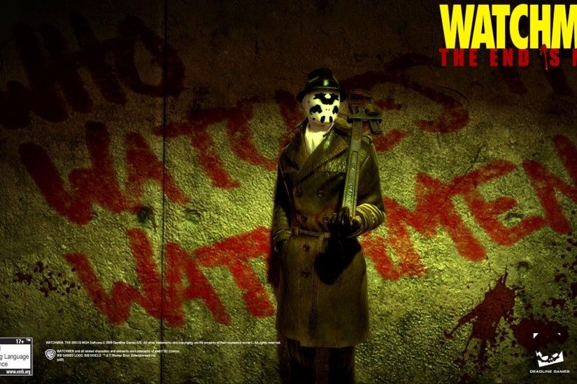 movies, Watchmen, Rorschach, Graffiti, Film Posters Wallpapers HD / Desktop  and Mobile Backgrounds