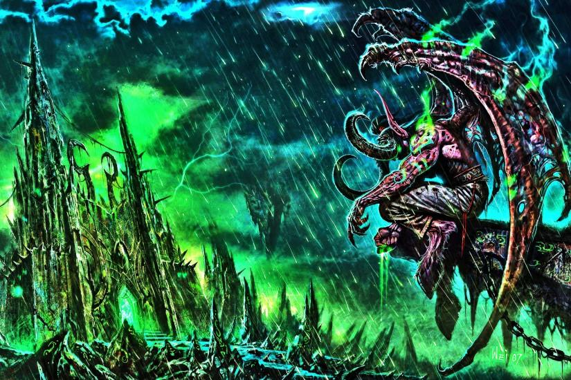 are viewing world of warcraft black temple illidan hd wallpaper Quotes .