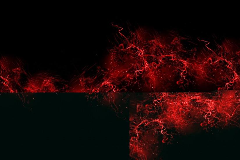 beautiful black and red background 1920x1080