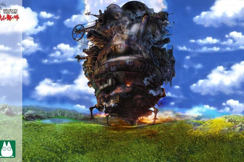 cool howls moving castle wallpaper 1920x1200 computer