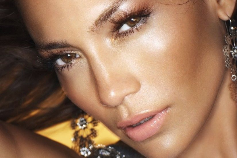 jennifer lopez face hd wallpaper