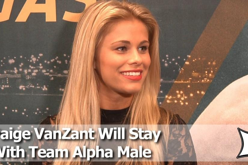 UFC's Paige VanZant Plans To Keep Training At Team Alpha Male After Win  Over Herring - YouTube