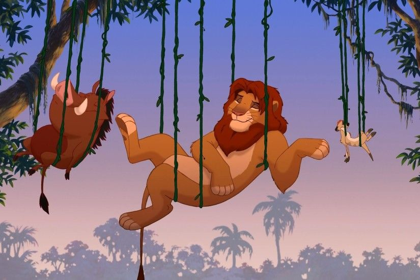 "Sure, within a few minutes of his father's death he is singing ""Hakuna  Matata"" with Timon and Pumbaa."